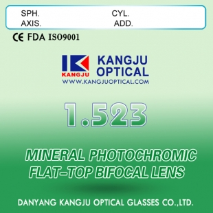 1.523 Photochromic Flat-Top Bifocal