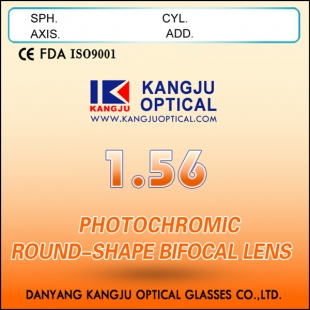 1.56 Photochromic Round-Shape Bifocal Lens