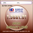 Index 1.56 & 1.60 High Impact Lenses