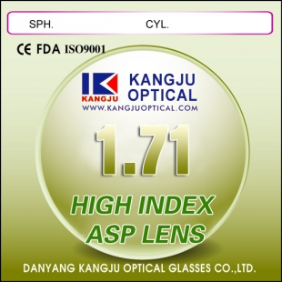 Hi-Index 1.71 Super Thin Lenses